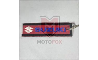 Μπρελόκ Πάνινο 3 X 11.5 Suzuki κόκκινο
