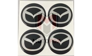 Αυτοκόλλητα για Ζάντες κρυσταλλοποιημένα Mazda