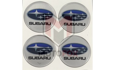 Αυτοκόλλητα για Ζάντες κρυσταλλοποιημένα Subaru