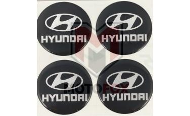 Αυτοκόλλητα για Ζάντες κρυσταλλοποιημένα Hyundai