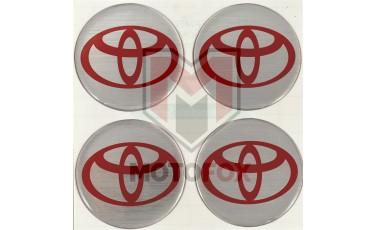 Αυτοκόλλητα για Ζάντες κρυσταλλοποιημένα Toyota