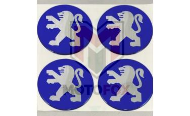 Αυτοκόλλητα για Ζάντες κρυσταλλοποιημένα Peugeot