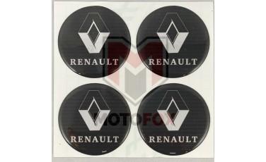 Αυτοκόλλητα για Ζάντες κρυσταλλοποιημένα Renault