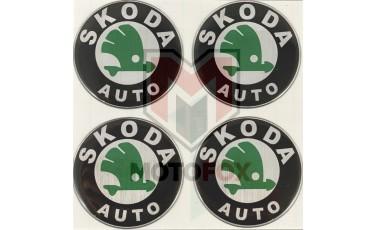 Αυτοκόλλητα για Ζάντες κρυσταλλοποιημένα Skoda