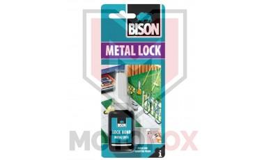 Κόλλα σπειρωμάτων για μπουλόνια,παξιμάδια και βίδες Bison metal Lock