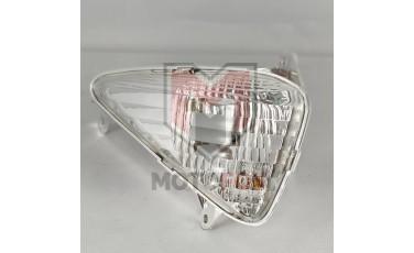 Εμπρός δεξί φλας RM με λευκό κρύσταλλο Honda Varadero XLV 1000