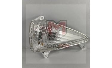 Εμπρός αριστερό φλας LM με λευκό κρύσταλλο Honda Varadero XLV 1000