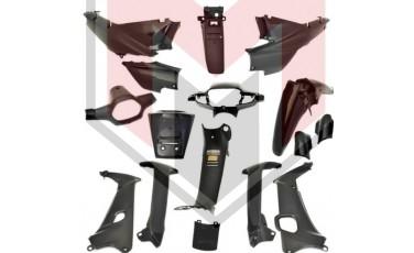 Σετ Πλαστικά - Κουστούμι Honda Supra Μαύρο