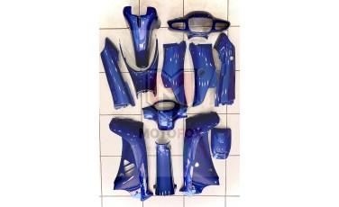 Σετ Πλαστικά Κοστούμι Modenas Kriss 115 Μπλέ Σκούρο