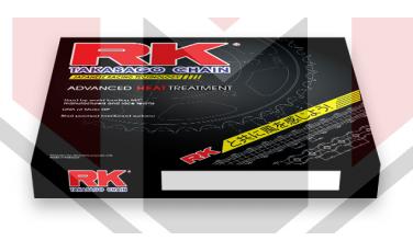 ΓΡΑΝΑΖΙ ΚΙΤ GSX 650F K7 RK 15Δ 48Δ 525