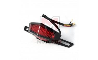 Φανάρι STOP πορείας και φλας LED με βάση πινακίδας