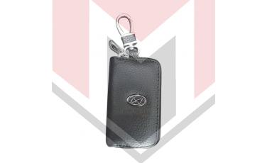 Mπρελοκ κλειδιών θήκη με δερματίνη Hyundai
