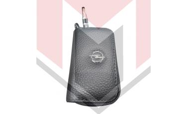 Mπρελοκ κλειδιών θήκη με δερματίνη Opel