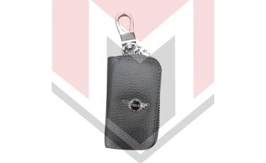 Mπρελοκ κλειδιών θήκη με δερματίνη Mini cooper