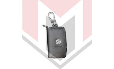 Mπρελοκ κλειδιών θήκη με δερματίνη VW