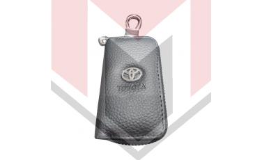 Mπρελοκ κλειδιών θήκη με δερματίνη Toyota