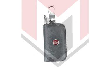 Mπρελοκ κλειδιών θήκη με δερματίνη Fiat