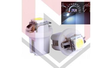 LED για όργανα αυτοκινήτου T5 B8.5D Λευκό