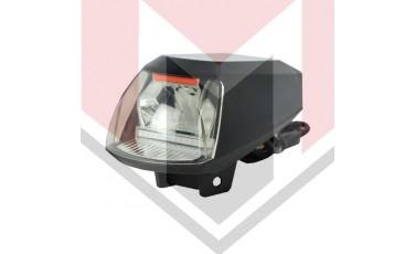 Αδιάβροχος προβολέας μοτοσυκλέτας 20W 12V LED COB με USB 1 τεμ. A06-X