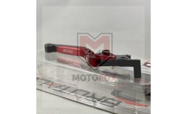 Μανέτα Σπαστή Ρυθμιζόμενη Honda WAVE 110 Κόκκινη BRUTALE