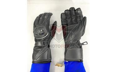 Γάντια Moto Δερμάτινα με Προστασία