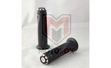 Χειρολαβές Τιμονιού XL-299 Μαύρες Με Ενσωματωμένο Αντίβαρο