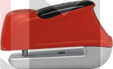 Κλειδαριά Δίσκου ABUS TRIGGER με συναγερμό AB345 κόκκινη