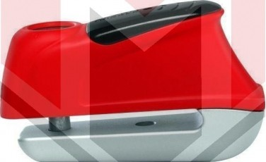 Κλειδαριά Δίσκου ABUS TRIGGER με συναγερμό AB350 Κόκκινη