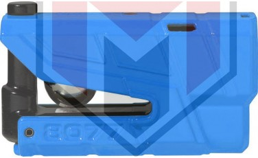 Κλειδαριά Δίσκου ABUS AB8077A Detecto με συναγερμό Μπλε