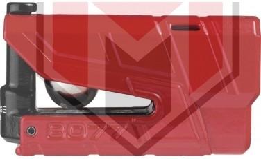 Κλειδαριά Δίσκου ABUS AB8077A Detecto με συναγερμό Κόκκινη