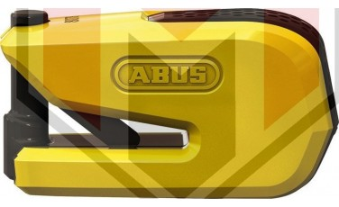 Κλειδαριά Δίσκου ABUS 8078A Detectp Smart-X με συναγερμό Κίτρινη