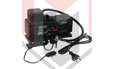Ηλεκτρική Τρόμπα Αυτοκινήτου Κομπρεσέρ Αέρος Αυτοκινήτου και Σπιτιού 12V/220V 250 PSI
