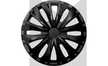Kάλλυμα τροχών αυτοκινήτου (τάσια) 15'' ιντσών χρώμα μαύρο ( MMT A112 2045B 15 )