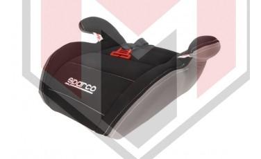 Παιδικό Κάθισμα αυτοκινήτου SPARCO μαύρο/γκρι Κατασκευή απο Πλαστικό/Πολυεστέρα (μέγιστο βάρος 36 KG) SPRO 100KBK
