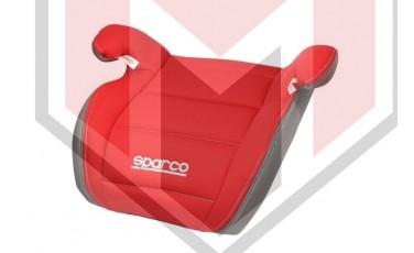 Παιδικό Κάθισμα αυτοκινήτου SPARCO Κόκκινο/Γκρι Κατασκευή απο Πλαστικό/Πολυεστέρα(μέγιστο βάρος 36 KG) SPRO 100KRD
