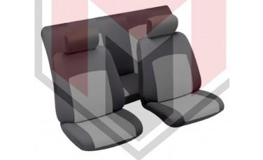 Κάλυμμα Σαλονιού Αυτοκινήτου (κομπλε Σετ μπροστά/πίσω) Χρώμα μαύρο/γκρι (MMT A048 223200)