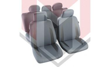 Κάλυμμα Σαλονιού Αυτοκινήτου (κομπλε Σετ μπροστά/πίσω) Χρώμα Γκρι (MMT A048 223270)