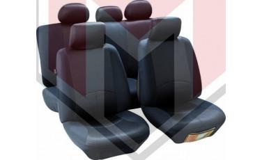 Κάλυμμα Σαλονιού Αυτοκινήτου (κομπλε Σετ μπροστά/πίσω) Χρώμα μαύρο ( MMT A048 191230)