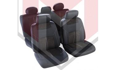 Κάλυμμα Σαλονιού Αυτοκινήτου (κομπλε Σετ μπροστά/πίσω) Χρώμα μαύρο ( MMT A048 191450)