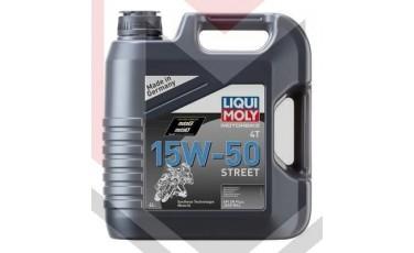 Λάδι κινητήρα μοτοσυκλέτας Liqui Moly 15-50 4T Street Mireval συσκευασία 4Lt (LIM1689)