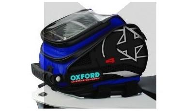 Τσάντα Ρεζερβουάρ(tank bag) Oxford X4,χωρητικότητας 4Lt Μπλε (OL277)