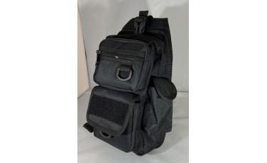Τσάντα ώμου μαύρη 184
