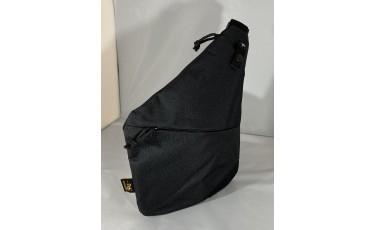 Τσάντα ώμου μαύρη 1373