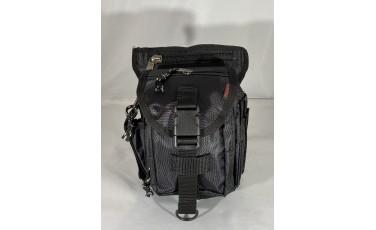 Τσάντια ποδιού μαύρη