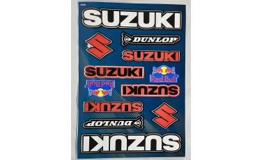 Αυτοκόλλητο Καρτέλα Suzuki Red Bull 21 X 30